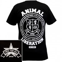 Animal Liberation Unisex T-Shirt: PETA Catalog