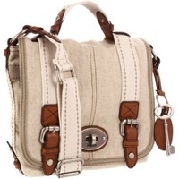 Fossil Maddox Fabric Organizer Flap Cross Body - designer shoes, handbags, jewelry, watches, and fashion accessories   endless.com