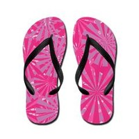 Rays Of Pink Flip Flops> LOTS OF FLIP FLOPS> THE AFTERLIFE ONLINE CLOTHING STORE