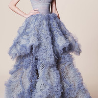 Tiered Ball Gown | Moda Operandi