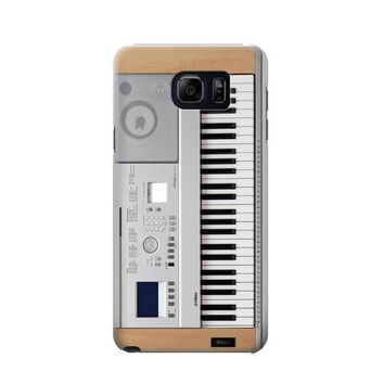 P0891 Keyboard Digital Piano Phone Case For Samsung Galaxy Note 5