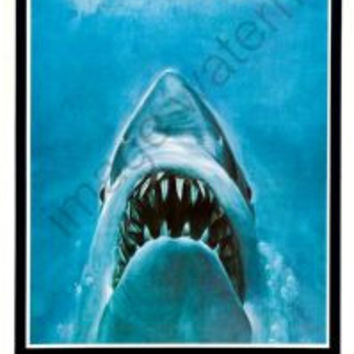 Jaws Movie Poster Insert 14x36