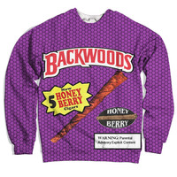 Backwoods Honey Berry Blunts Sweatshirt