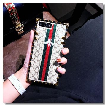 GUCCI 2017 Hot ! iPhone 7 iPhone 7 plus - Stylish Cute On Sale Hot Deal Apple Matte Couple Phone Case For iphone 6 6s 6plus 6s plus
