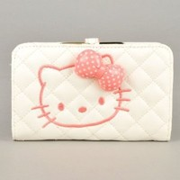 Hello Kitty Lady Bifold Clutch Long Wallet Purse