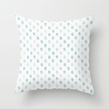 Under the Sea Throw Pillow by MidnightCoffee