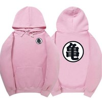 Dragon ball animation role play baseball uniform with Goku sweater cashmere sweater Hoodie to turtle
