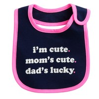 Carter's I'm Cute Bib