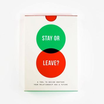 Stay or Leave Card Game - Omoi Zakka Shop