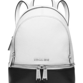 MICHAEL Michael Kors Rhea Zip Colorblock Medium Backpack | macys.com