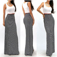 New 2015 Celeb Sexy Boho Long Maxi Dress Ladies Summer Beach Party Sun Dress