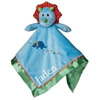 Personalized Dinosaur Baby Security Blanket | Personalized Dinosaur Baby Boy Gifts | Baby Boy Gifts | Personalized Baby Security Blankets