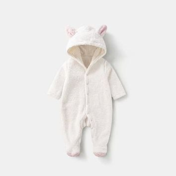 Newborn Baby Rompers Winter Autumn Full Sleeve Baby Boy Clothes Animals Jumpsuit Baby Girl Romper Christmas Baby Costume Clothes