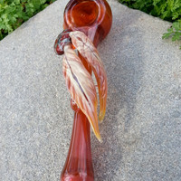 Native Medicine: Dreamcatcher Glass Pipe Color Changing