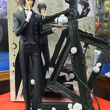 Black Butler Book Of Circus Sebastian Michaelis 25cm Action Figure