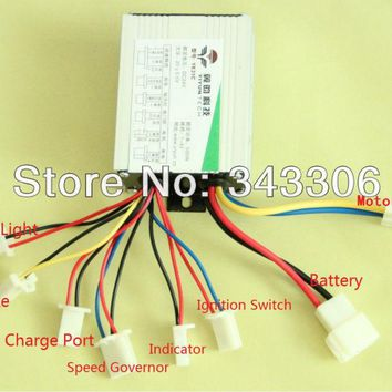 500W 24V DC motor brushed controller for electric bicycle  controlador de motor Toy Scooter Motor Driver