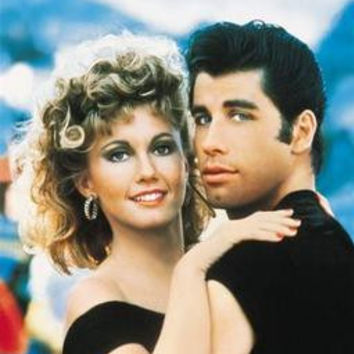Grease Movie Poster No Text Art Only John Travolta 24in x36 in