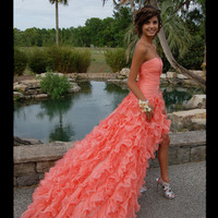 Stunning Ball Gown Sweetheart High-low Asymmetrical Prom Dress, Bridesmaid Dress, Graduation Dress, Formal Dress, Evening Dress