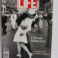 LIFE MAGAZINE, Special Edition magazine, Classic Moments Fall 1990, Vintage Paper Ephemera,vintage lifestyle magazine,collectible LIFE issue