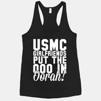USMC Girlfriends put the ooo in Oorah!
