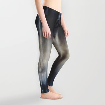 Welcome Leggings by HappyMelvin | Society6