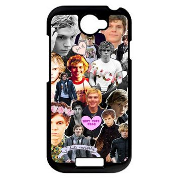 Evan Peters Collage 3 HTC One S Case