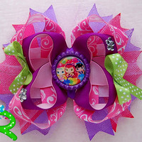 Little Charmers Boutique Stacked Hair Bow , little charmers bow