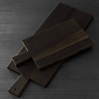 Reclaimed Ebonized Cherry Wood Cheese Board