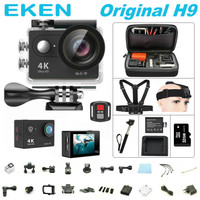 Action camera deportiva Original EKEN H9 / H9R remote Ultra FHD 4K WiFi 1080P 60fps 2.0 LCD 170D sport go waterproof pro camera