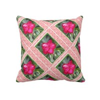 Floral, Pink Blooms and Polka Dot Ribbons from Zazzle.com