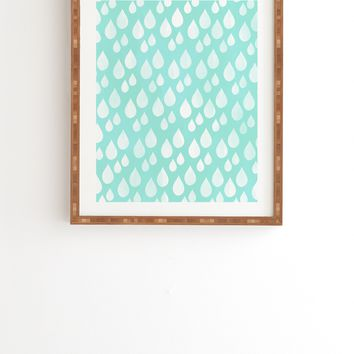 Allyson Johnson Rain Drops Framed Wall Art