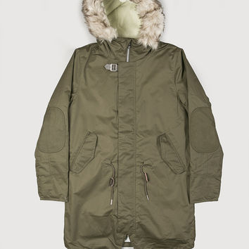Elvine Hercules Jacket Army Green