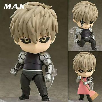 One Punch Man Genos Nendoroid Action Figure/Genos Doll PVC  Toy Brinquedos Anime figure Super Movable Edition