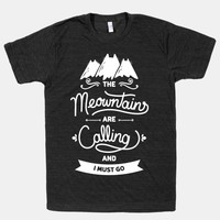 The Meowntains Are Calling & I Must Go
