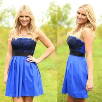 Blue For You Dress