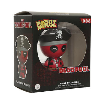 Funko Deadpool Dorbz Pirate Vinyl Figure