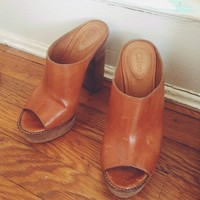 The most beautiful Chloé clogs!! They are size 36 1/2 ...