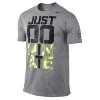 "Nike Football ""Just Dominate"" Men's T-Shirt (Black)"