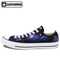 Low Top Galaxy Nebula Original Design Converse All Star Women Men Shoes Custom Hand Painted Shoes Man Woman Sneakers Gifts