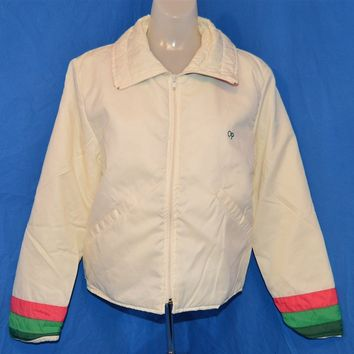 80s Ocean Pacific Zip Up Women's Ski Jacket Medium