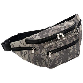 Military Camouflage Waist Belt Bag