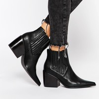 ASOS ELSA Pointed Ankle Boots