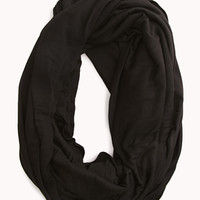 FOREVER 21 Must-Have Oversized Infinity Scarf Black One