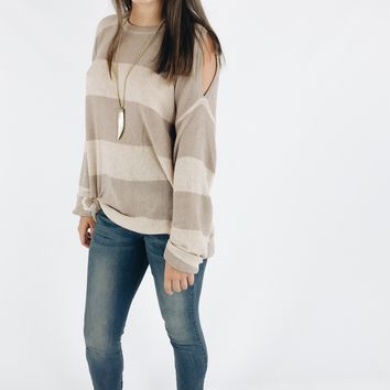 Cuddle Me Up Sweater - Natural