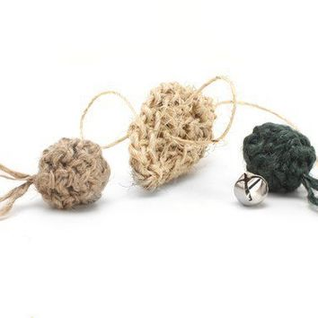 Natural Cat Toy Gift Set by moderncat on Etsy
