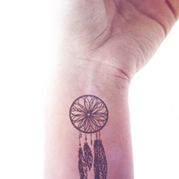 2pcs Small Dreamcatcher hipster tattoo - InknArt Temporary Tattoo - wrist quote tattoo body sticker fake tattoo wedding tattoo small tattoo