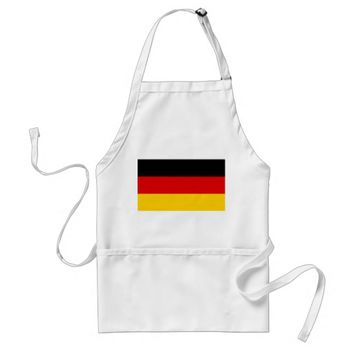 Apron with Flag of Germany
