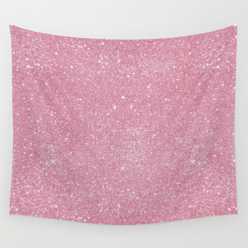 Pastel Glitter 01 Wall Tapestry by Aloke Design