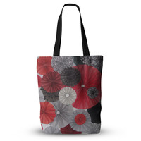 "Heidi Jennings ""Kyoto"" Red Black Everything Tote Bag"
