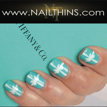 Tiffany esque' Blue Box and 1837 Tiffany NAILTHINS